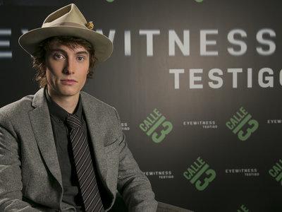 """""""Para un actor joven, 'Eyewitness' es un papel de ensueño"""", entrevista a James Paxton"""