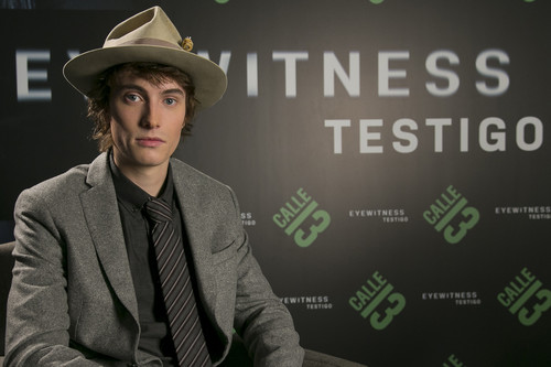"""Para un actor joven, 'Eyewitness' es un papel de ensueño"", entrevista a James Paxton"
