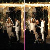 Mariah Carey renueva sus votos embutida en un vestido de novia