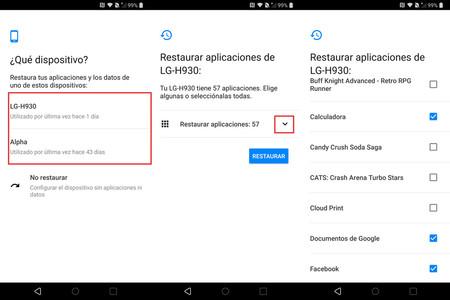 Configuracion Nuevo Android