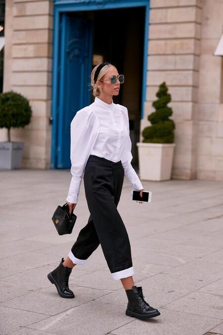 19 camisas lisas, de rayas o de cuadros de las segundas  rebajas que combinan con cualquier pantalón