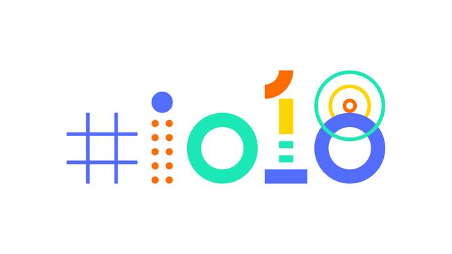 Google Io 2018 Hashtag White 16x9 Rgb