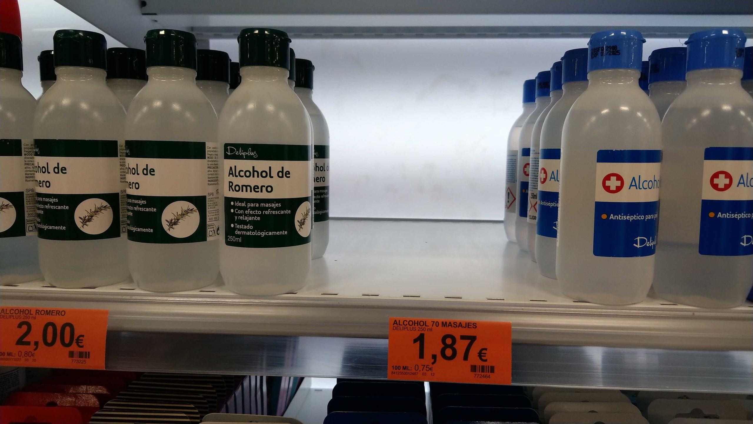 Foto de Geles de mano desinfectantes agotados en Mercadona (1/8)