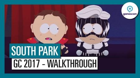 Estos 20 minutos de gameplay oficial demuestran que South Park: Retaguardia en Peligro estará a la altura de la serie [GC 2017]