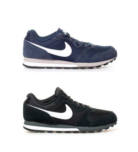 cd1ecad4da Super Week en eBay  zapatillas Nike MD Runner 2 en negro o azul marino por  39