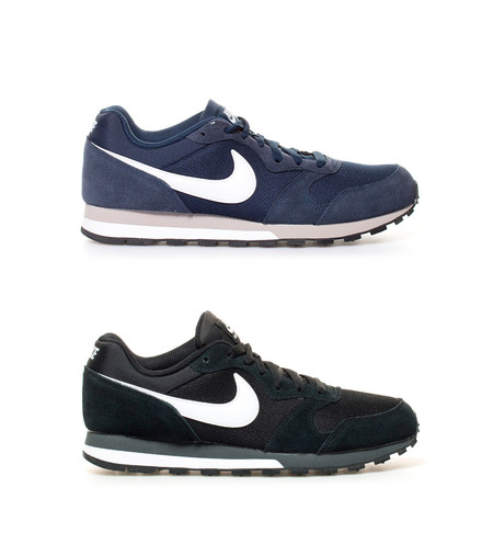 Super Week en eBay  zapatillas Nike MD Runner 2 en negro o azul marino por  39 2af0308ebacd6