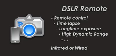 Utiliza tu Android como disparador e intervalómetro con DSLR Remote