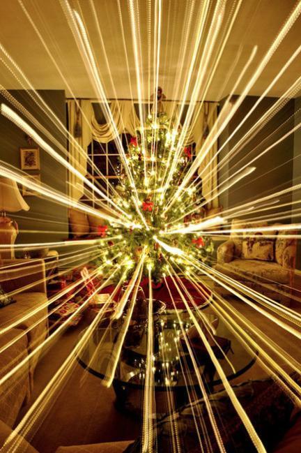 Truco Express: obtén impactantes fotos navideñas incrementando la exposición y utilizando el zoom