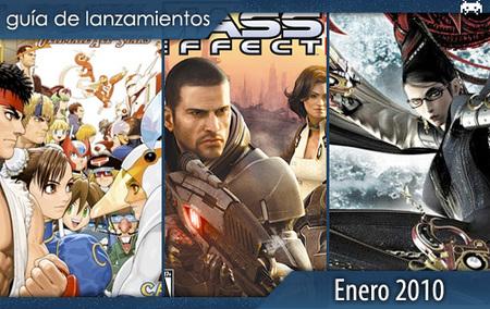 Guía de lanzamientos enero 2010