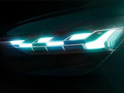 Audi presenta dos teasers del crossover eléctrico que develará en Ginebra