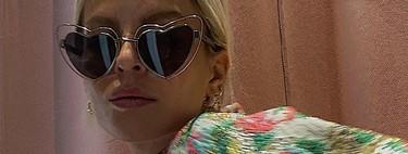 Regresamos a la infancia con estas gafas de sol en forma de corazón que prometen ser el centro de atención de nuestros estilismos