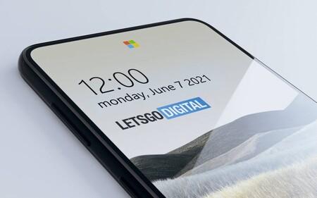 Microsoft ha ocultado cuatro cámaras bajo el cristal de la pantalla y cuatro filtros de color