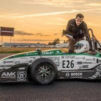 Estudiantes alemanes consiguen un récord de aceleración con un prototipo eléctrico