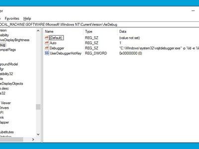 El Editor de Registro se moderniza con una barra de direcciones con la llegada de Redstone 2