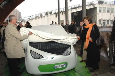 Fiat Phylla, prototipo de coche solar