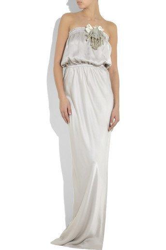 vestido novia lanvin