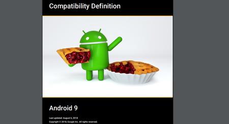 Compatibilidad Android Pie