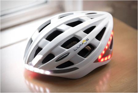 Casco inteligente Lumos, para andar en bici con mayor seguridad