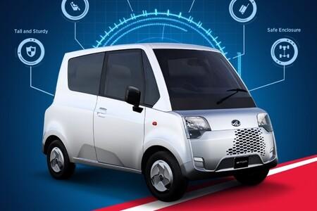 El Mahindra Atom quiere ser el coche eléctrico más barato del mundo por menos de 3.500 euros... y recuerda al terrible Tata Nano