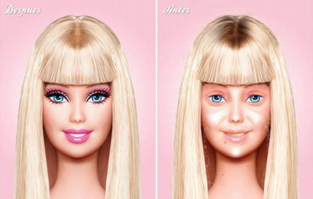 Barbie al natural, sin trucos ni artificios