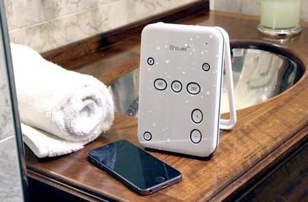iShower2, con este altavoz podrás contestar llamadas incluso cuando te bañas