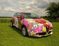 """Alfa Romeo Mito """"art car"""", a punto de ser Dolorpasión™"""