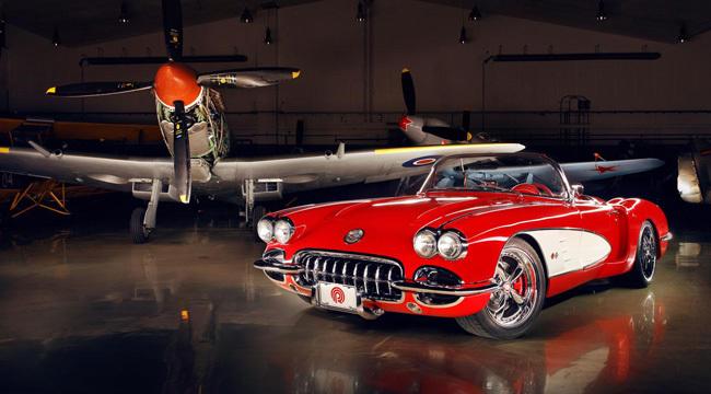 Pogea Racing Chevrolet Corvette 1959