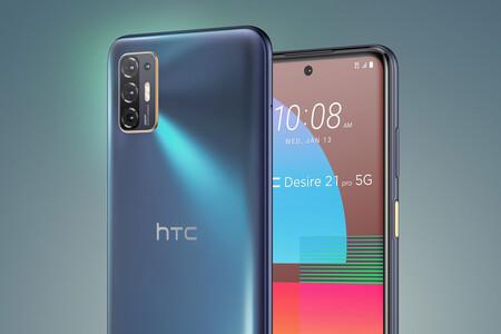HTC Desire 21 Pro: el primer HTC Desire con 5G también tiene una gran batería