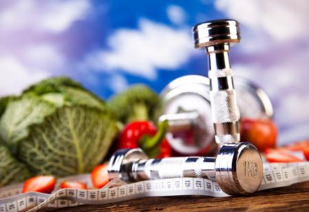 dieta y pesas