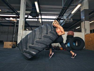 No hago crossfit, hago pesas y entreno funcional