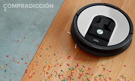 El Roomba 971 también está de oferta en Amazon: este robot aspirador de gama alta sólo cuesta 379 euros esta semana