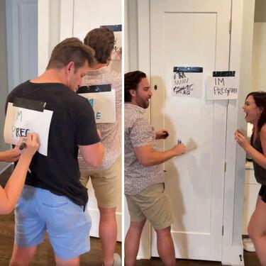 Una forma divertida y original de anunciar el embarazo: jugando a adivinar la frase
