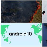 La devastación de los incendios en el Amazonas y las seis noticias de tecnología más importantes de hoy