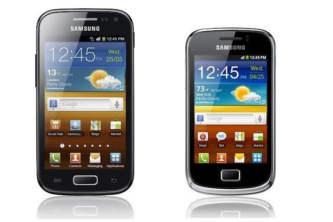 Samsung Galaxy Ace 2 y Mini 2