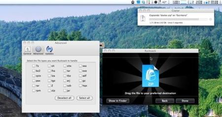 Rucksack, sencillo compresor de archivos