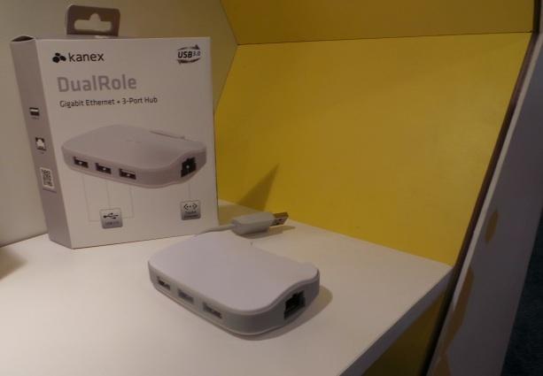 Kanex DualRole, Ethernet y Hub USB 3.0