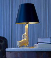 Lámparas Gun de Philippe Starck