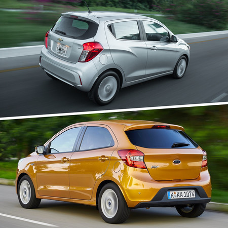 Ford Figo Vs Suzuki Ignis Vs Chevrolet Spark Vs Fiat Uno 4