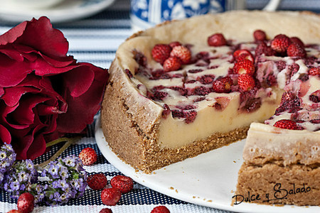 cheesecake microondas