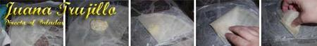 Preparación de los pastelitos de pescado