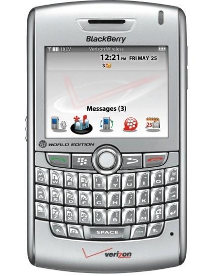 BlackBerry 8830 Cyclone, la 8800 para Verizon