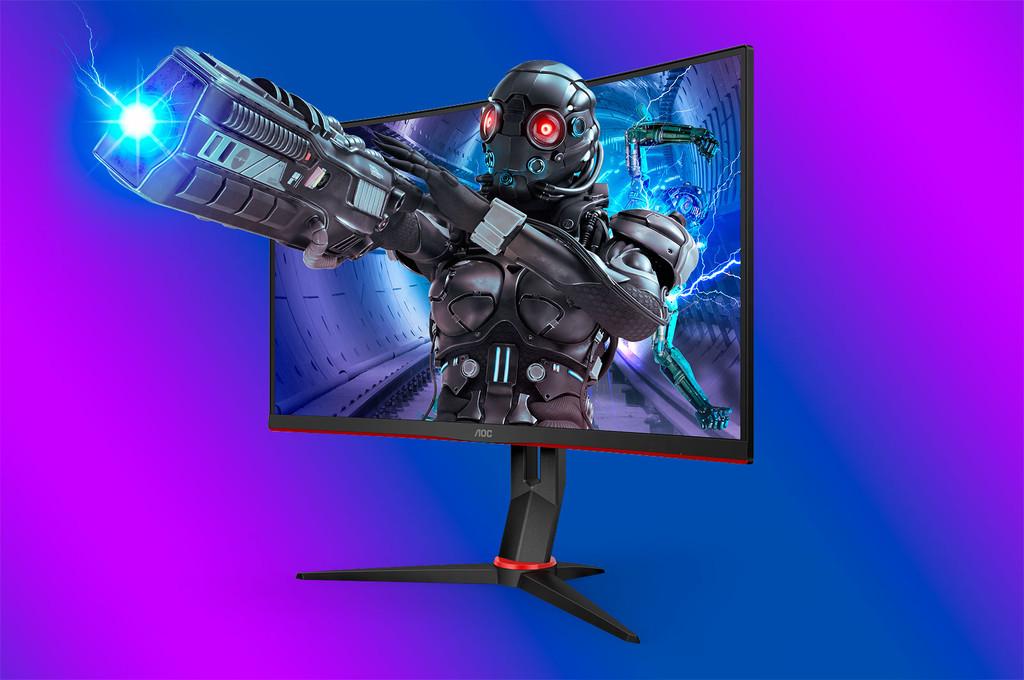 Los nuevos monitores AOC para gaming vienen con 240 Hz, paneles curvos y precios contenidos