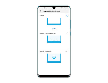 Huawei P30 Pro Gestos Navegacion
