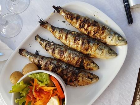sardina asada