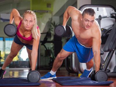 31 ejercicios con mancuernas para todo el cuerpo