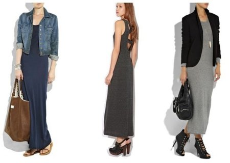 vestidos largos net a porter y urban outfitters