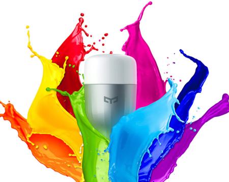 Código de descuento: bombilla LED inteligente Xiaomi Yeelight RGBW por 12,33 euros y envío gratis