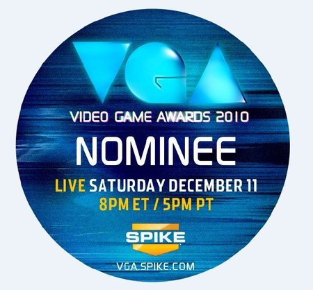Premios VGA 2010, lista de nominados