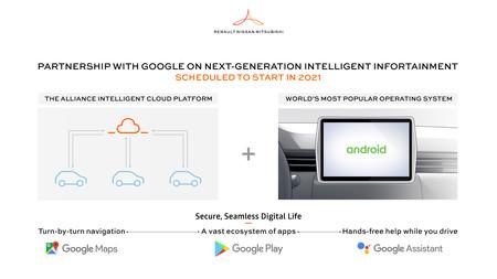 Renault Nissan Mitsubishi Google
