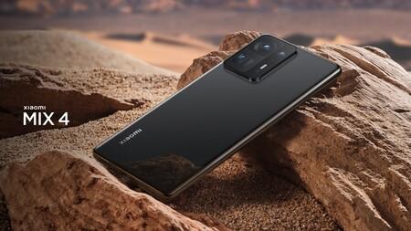 El Xiaomi Mix 4 es oficial: cámara bajo la pantalla, un sensor de 108 megapíxeles y el Qualcomm Snapdragon 888 Plus como principales protagonistas
